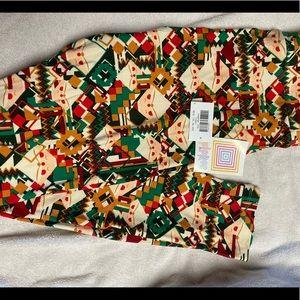 NWT Christmas LuLaRoe Leggings - TC2 Santa